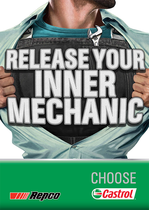 Castrol - Release Your Inner Mechanic Promotion Poster