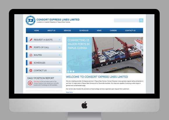 Consort Express Website