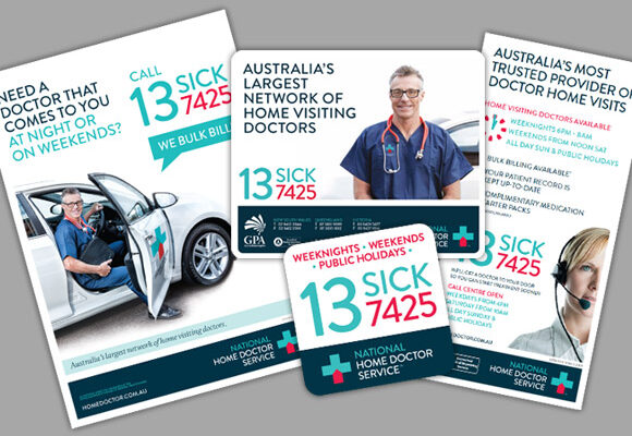 National Home Doctor Service Brochures