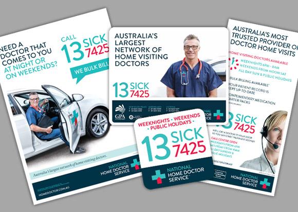 National Home Doctor Service Brochures