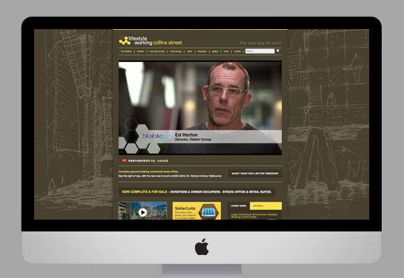Stable Group & Lend Lease Lifestyle Working Website
