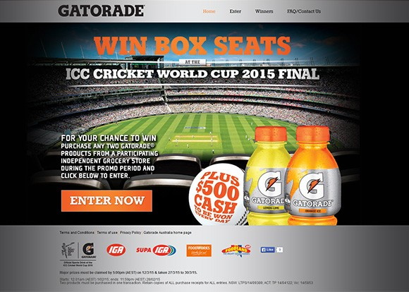Gatorade-win-boxseats