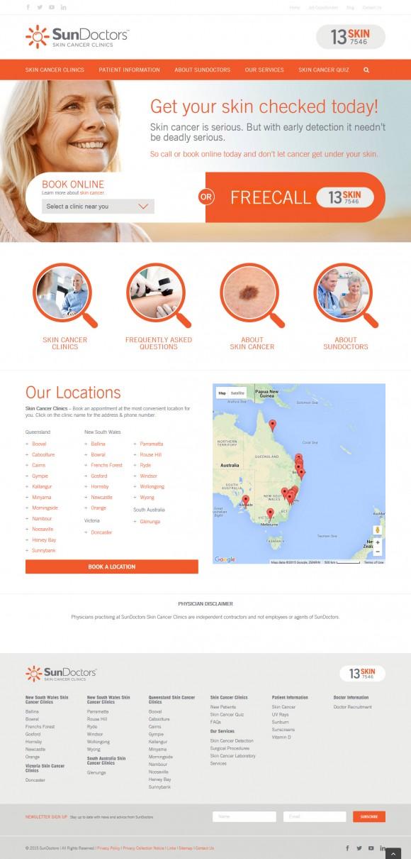 SunDoctors-homepage